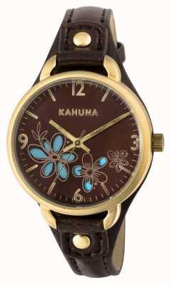 Kahuna Brown des femmes cadran bracelet brun KLS-0308L