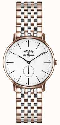 Rotary Mens les originales deux tons GB90057/06