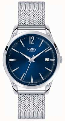 Henry London En acier inoxydable de Knightsbridge unisexe HL39-M-0029