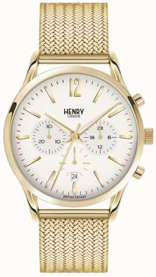 Henry London Maille plaqué Mens Westminster PVD or HL41-CM-0020