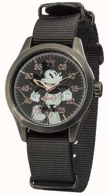 Disney By Ingersoll Mickey Mouse montre avec bracelet en nylon DIN008BKBK