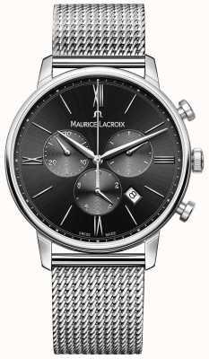 Maurice Lacroix Acier inoxydable cadran noir de Mens EL1098-SS002-310-1