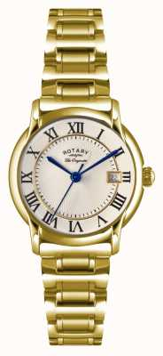 Rotary Womens les originales carviano plaque pvd or LB90143/03