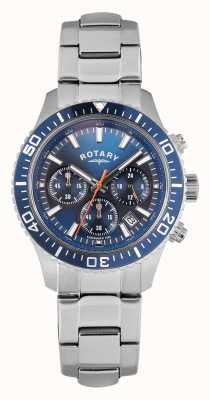 Rotary Gents cadran bleu Spécial gestionnaire GB00358/05