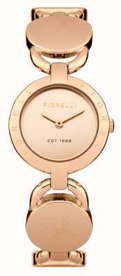 Fiorelli Femmes rose bracelet en or rose cadran en or FO001RGM