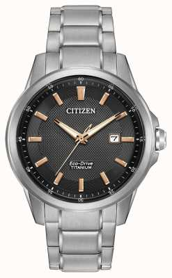 Citizen Gents eco-drive WR100 de titane AW1490-50E
