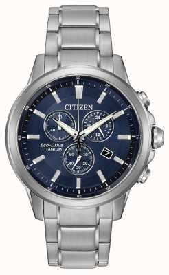 Citizen Eco-drive chronographe en titane AT2340-56L