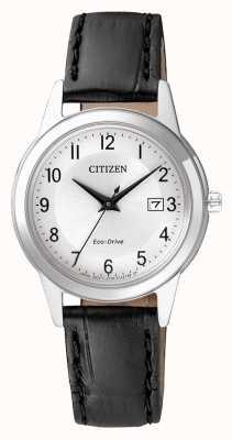 Citizen Womens eco-drive bracelet en cuir FE1081-08A