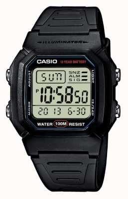 Casio alarme de vitesse de sport chronographe W-800H-1AVES