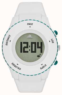 adidas Performance Mens jailli blanc silicone bracelet numérique ADP3221