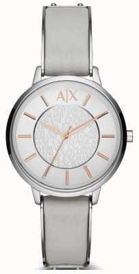Armani Exchange Mesdames cuir olivia montre bracelet AX5311