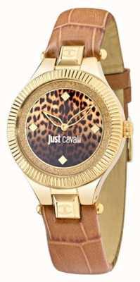Just Cavalli Just indie beige cadran noir 36mm R7251215502