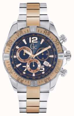 Gc deux tons chronographe Mens gc Y02002G7