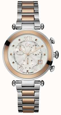Gc deux tons chronographe gc Womens Y05002M1