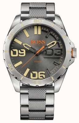 Hugo Boss Orange Ex-affichage mens berlin acier inoxydable 1513317