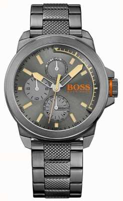 Hugo Boss Orange Mens newyork acier ip gris 1513319