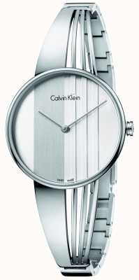 Calvin Klein Femmes dérive cadran argenté K6S2N116