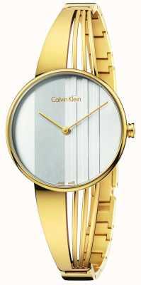 Calvin Klein Femmes dérive or K6S2N516