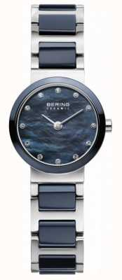 Bering Femmes bracelet cadran bleu argenté bleu 10725-787