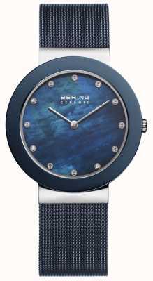 Bering | bracelet bleu femme cadran bleu | 11435-387