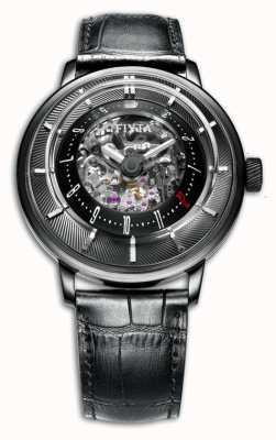FIYTA Bracelet en cuir pour homme édition limitée GA8606.BBB