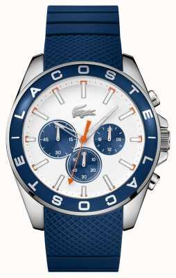 Lacoste westport bracelet bleu montre chronographe Homme 2010854