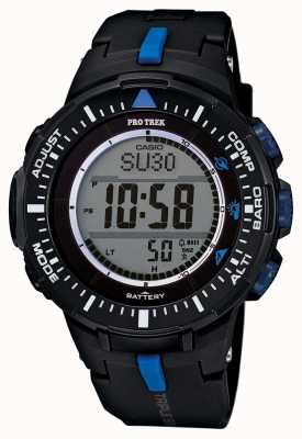 Casio de Mens sangle de résine d'alarme PRG-300-1A2ER