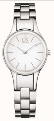 Calvin Klein Ex-display simplicité acier inoxydable K4323126-EXDISPLAY