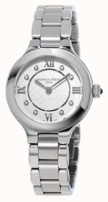 Frederique Constant Classics delight pour femmes serti de diamants en acier inoxydable FC-200WHD1ER36B