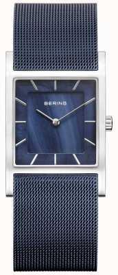 Bering Womens cadran bleu maille bleu 10426-307-S