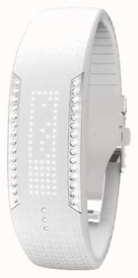 Polar Boucle Unisexe 2 Swarovski Crystal White Tracker d'activité 90057756