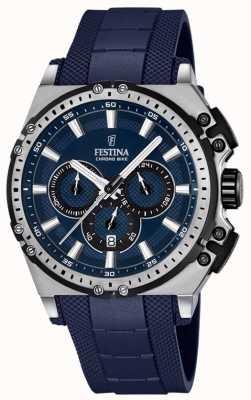 Festina 2016 mens chronobike montre chronographe bleu F16970/2