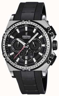Festina 2016 mens chronobike montre chronographe noir F16970/4