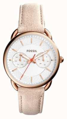 Fossil Femmes tailleur marron clair bracelet en cuir ES4007