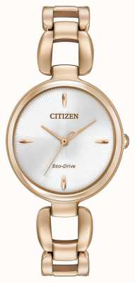Citizen Womens rose bracelet plaqué or pvd EM0423-56A