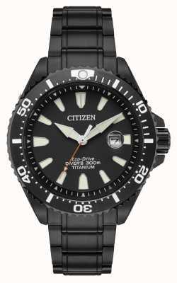 Citizen Royal marines édition limitée 300m titane ionique BN0149-57EE