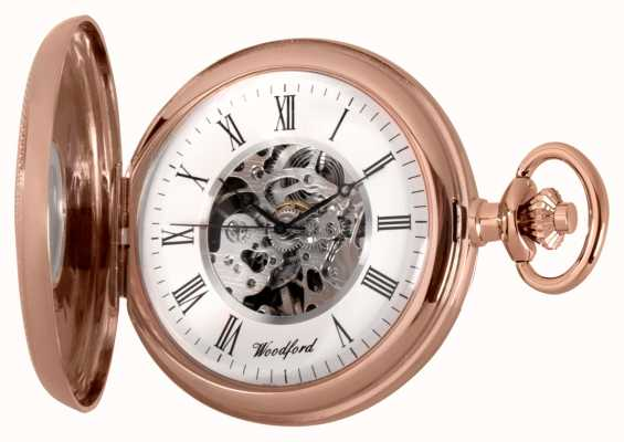 Woodford | demi chasseur | or rose | montre de poche | 1092