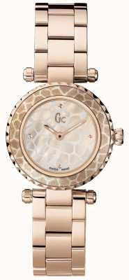 Gc Womens mini-chic, rose plaqué PVD or X70043L1S
