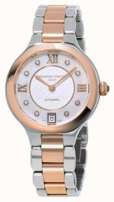 Frederique Constant Ex affichage féminin délice diamant deux tons FC-306WHD3ER2B-EX-DISPLAY