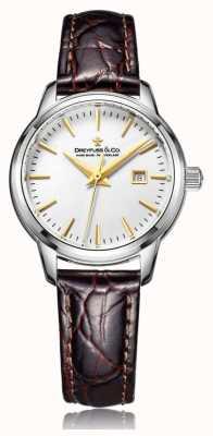 Dreyfuss Mesdames suisse montre faite avec bracelet brun DLS00125/02