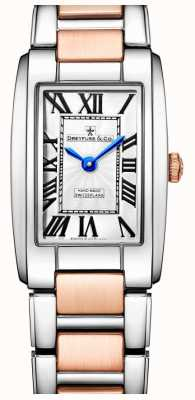 Dreyfuss Elegance deux tons montre en or rose DLB00147/01