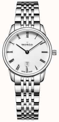 Dreyfuss Bracelet femme en argent | visage blanc | DLB00146/01