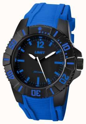 Limit Bracelet bleu actif homme noir 5546.02