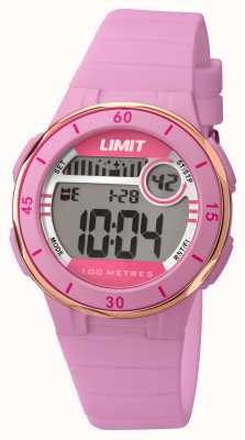 Limit Womans bracelet rose cadran numérique 5557.24