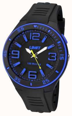 Limit Bracelet noir pour homme noir 5568.24