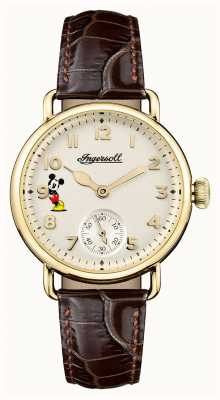 Disney By Ingersoll Womens union le trenton disney édition limitée marron ID00102