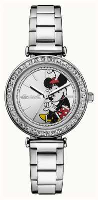 Disney By Ingersoll Womens union le cadran disney en acier inoxydable argent ID00305