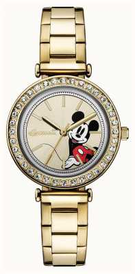 Disney By Ingersoll Womens union le disney or ton acier inoxydable ID00304