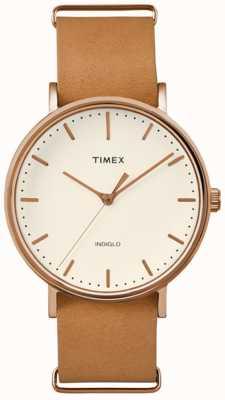 Timex Cadran unisexe de cadran Fairfield TW2P91200