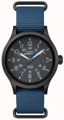 Timex Bandoulière en cuir noir TW4B04800